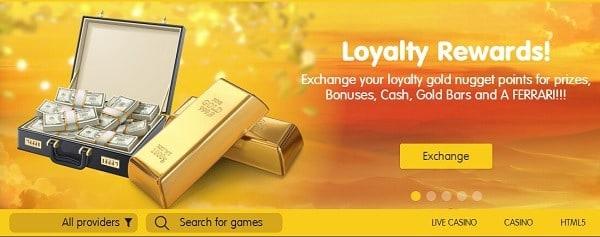 24K loyalty rewards & VIP promotions