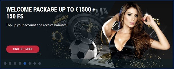 1500 EUR welcome offer