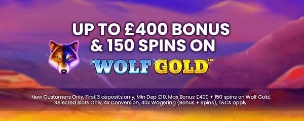 Spin Princess 150 free spins bonus