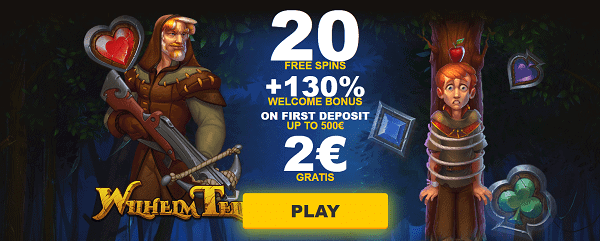 20 FreeSpins and 2 EUR no deposit now