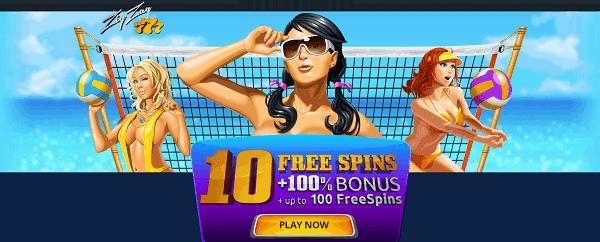 10 No Deposit Free Spins