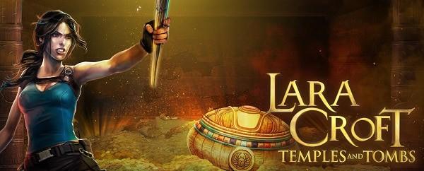 Tomb Raider Lara Croft free spins game