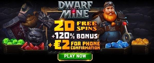 Exclusive Offer: 20 free spins NDB + 2 EUR gratis