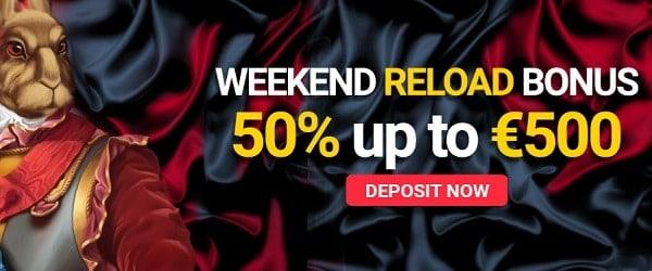 Weekend Reload Bonuses
