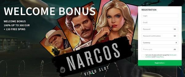 Welcome Bonus and 120 Free Spins Bonus