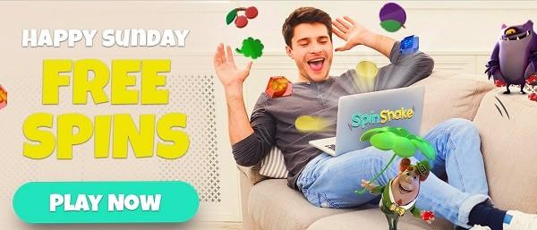 Free Spins Happy Sunday