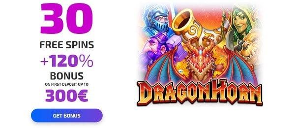 30 free spins bonus after registration