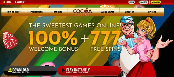 100% bonus + 777 gratis spins