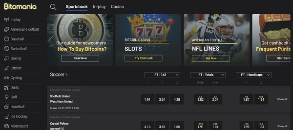 Crypto Sportsbook (Bitcoin)