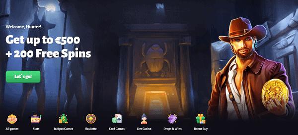 Slothunter Welcome Bonus