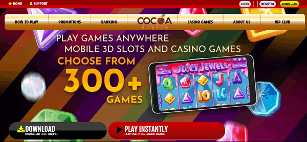 300+ Slots and Table Games for USA