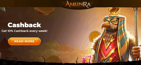 Amun Ra Cashback