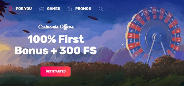 300 FS + 100% Bonus