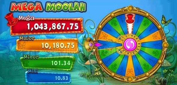 Jackpot Wheel Mega Moolah