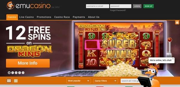 EmuCasino.com no deposit bonus