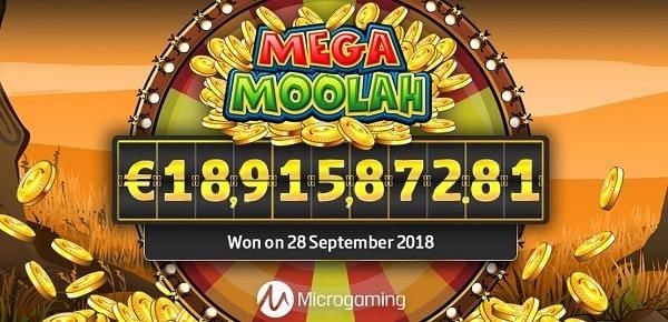 Mega Moolah Jackpot Winner Guiness Record