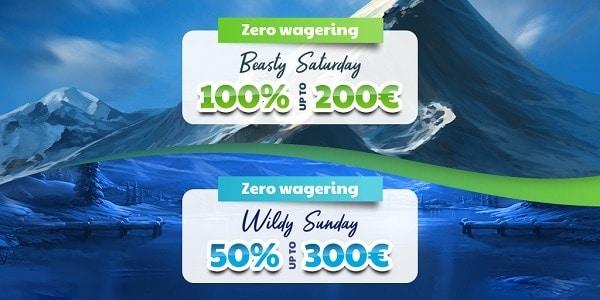 Beasty Saturday and Wildy Sunday