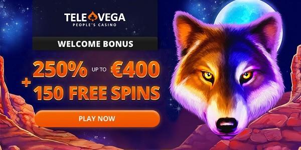 250% bonus up to 400 EUR