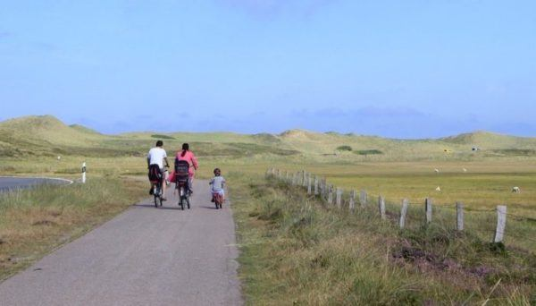 Bicycle riding is a great activity for a family vacation, if you have realistic expectations.