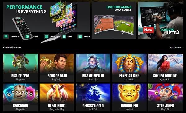 Cbet casino, sports, e-sports, live dealer