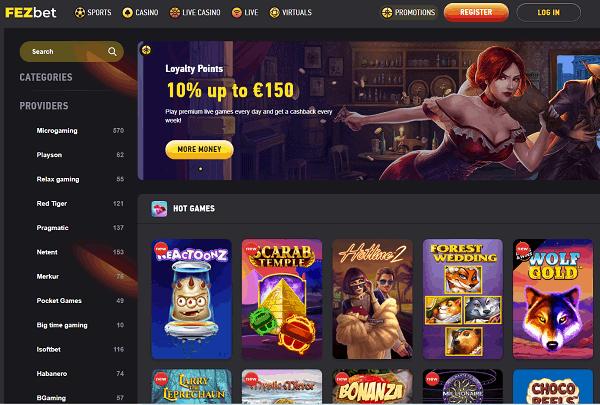 FEZbet Casino & Sports Review