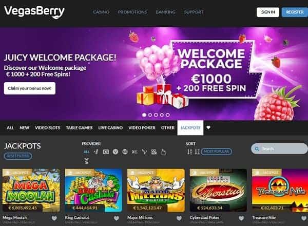 Vegas Berry free play