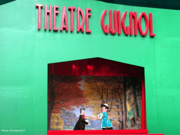 Guignol puppet theater at square st. Lambert