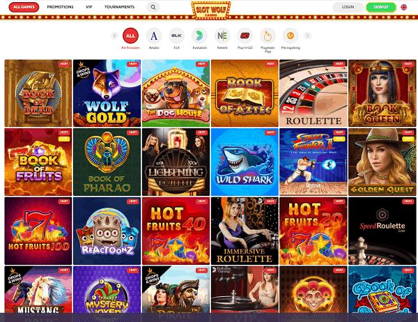 Slotwolf Casino Full Review