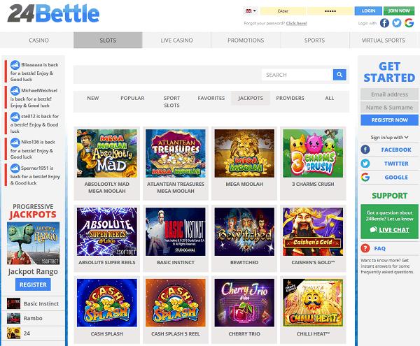 24Bettle Casino Online