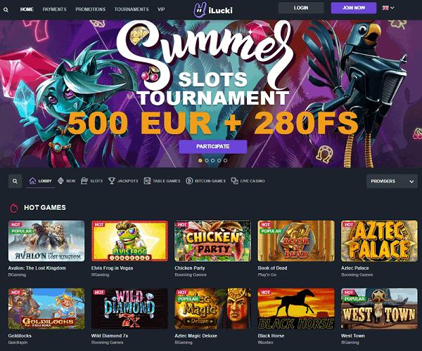 iLucki.com Casino Welcome Bonus