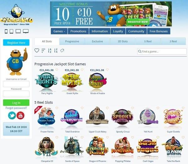 Cyber Bingo Casino Review