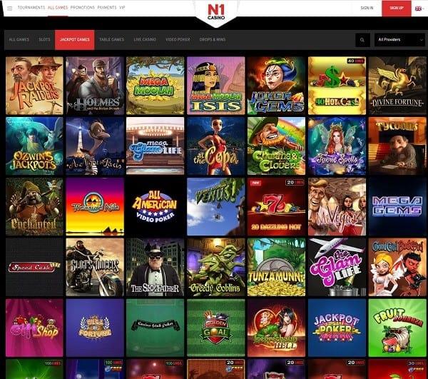 N1 Casino free play games