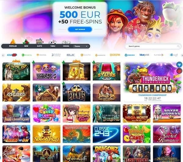 Ego Casino free bonus code