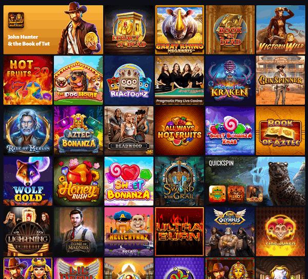 Slot Hunter Free Spins Bonus