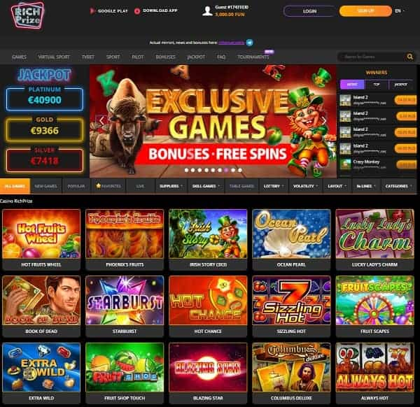 Rich Prize Casino Full Review