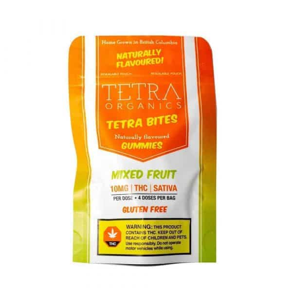 Buy real weed online cheap order edibles online review Tetra Bites Edibles 10mg THC