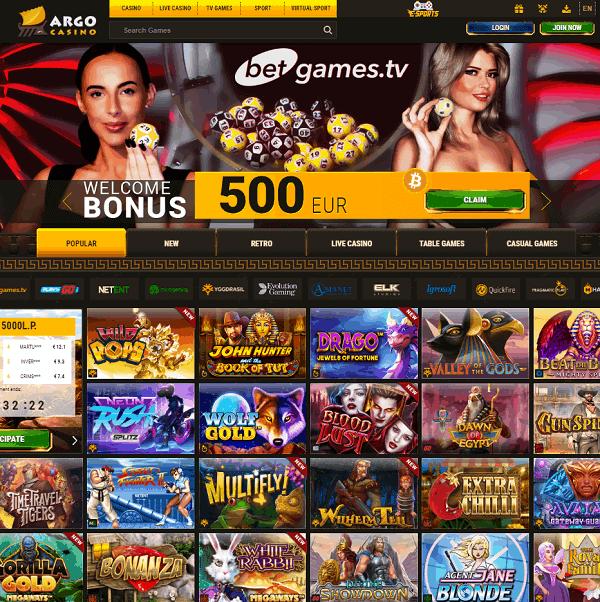 Argo Casino Overview