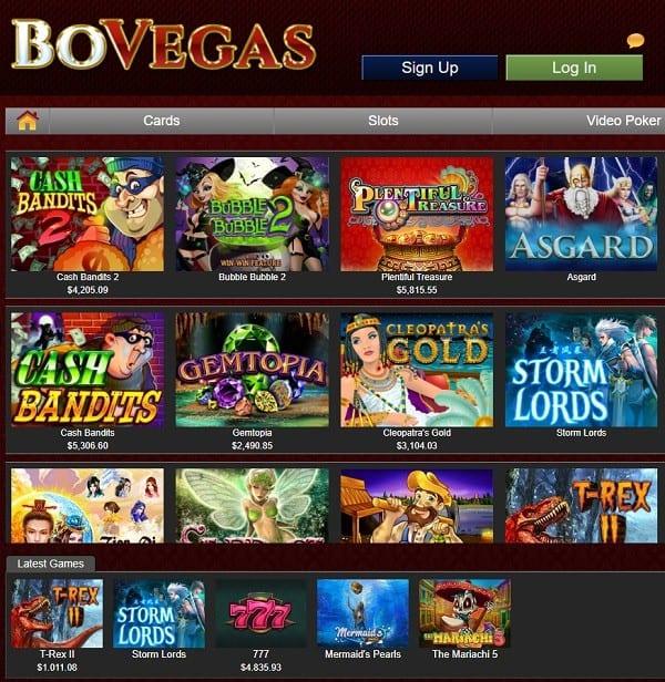 Bo Vegas Casino Review