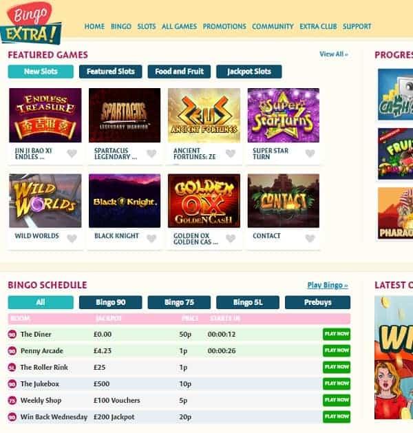 Bingo Extra mobile casino