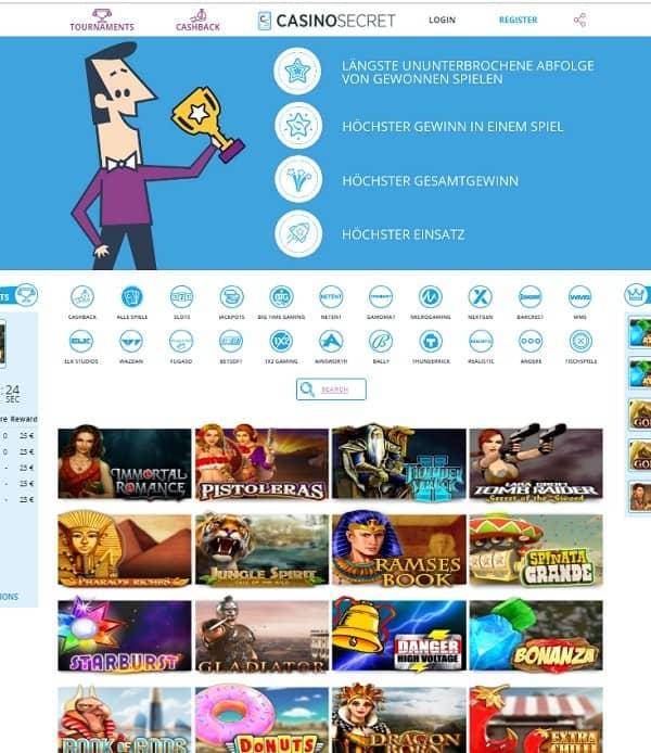 CasinoSecret.com Full Review