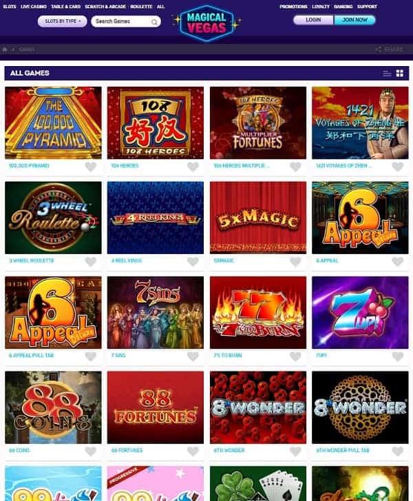 Magical Vegas Casino Review: £1,000 bonus and extra free spins