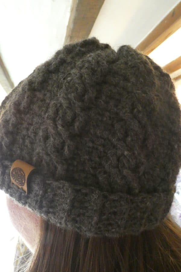 cozy shetland wool hat