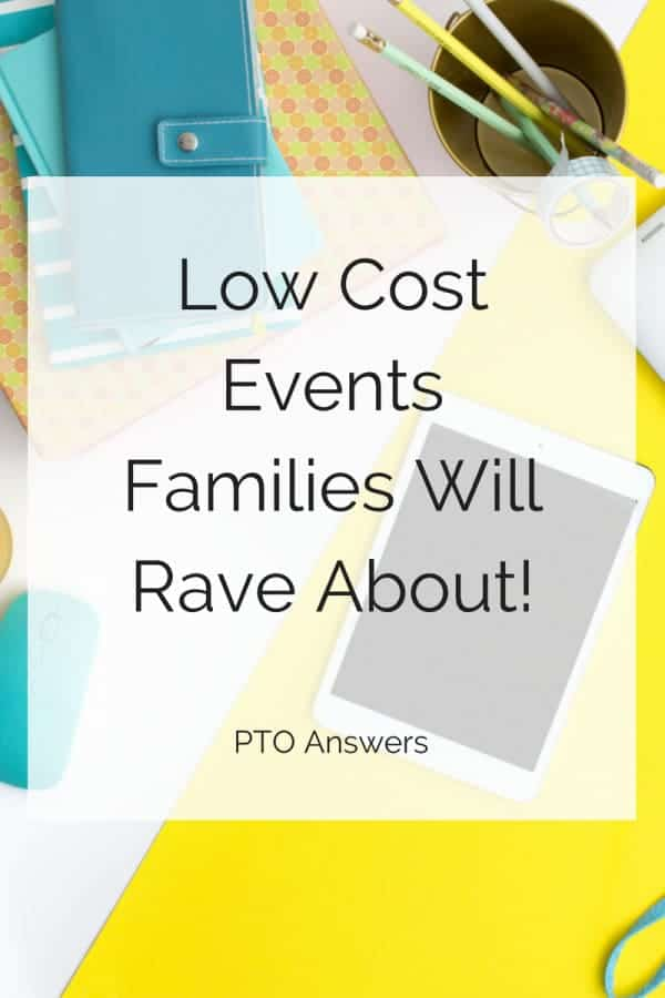Low Cost Events Families will Rave About