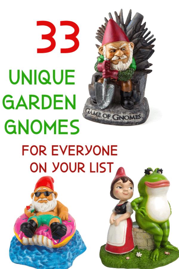 Unique Garden Gnomes