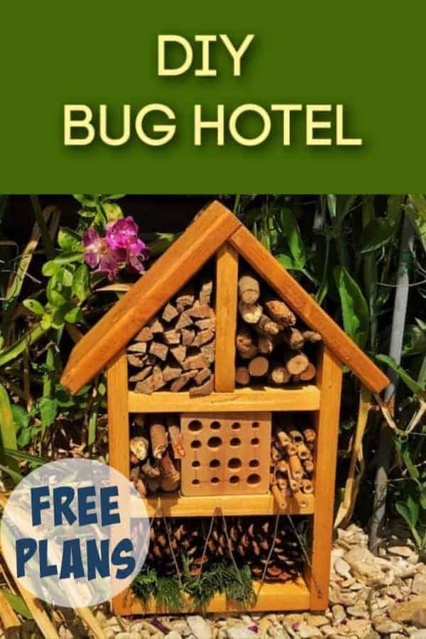 DIY bug hotel