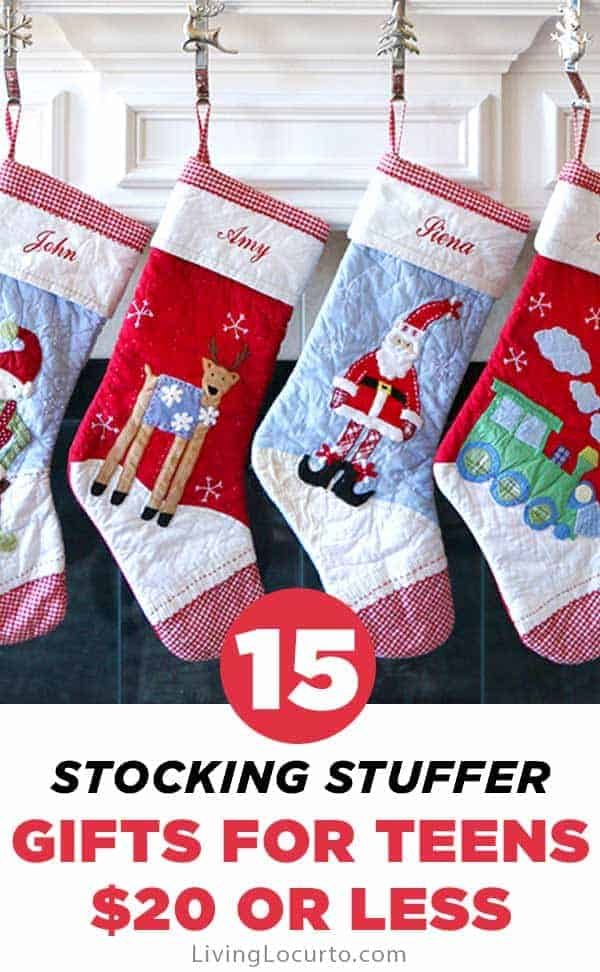 15 Stocking Stuffers for Teens $20 or Less