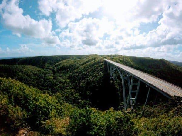One of matanza's impressive bridges