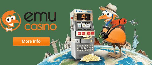EMU website and welcome bonus