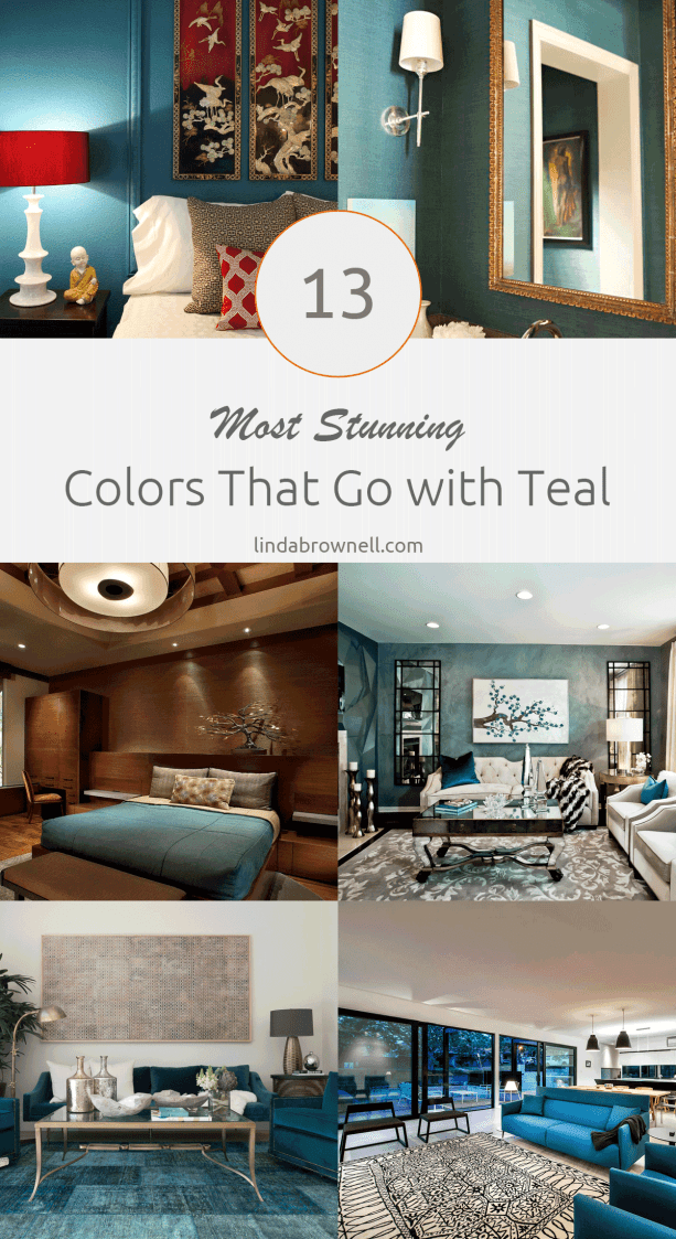 13 most stunning colors that go with teal