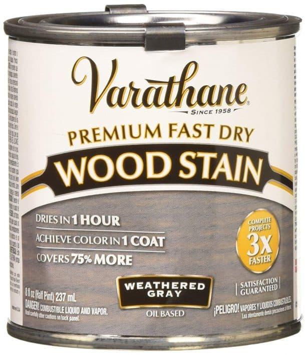 Rust-Oleum Varathane Premium Fast Dry Wood Stain Weathered Gray